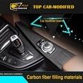 Free shipping  Carbon Fiber Interior Dashboard Trims for BMW 3series low version 10pcs/set