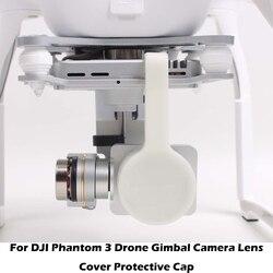 Dla DJI Phantom 3 Pro osłona obiektywu aparatu Protector z blokadą Stabler dla Phantom3 dron Gimbal Cam osłona etui ochronne
