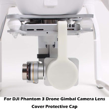 For DJI Phantom 3 Pro Camera Lens Cap Protector with Gimbal Stabler Lock for Phantom3 Drone Gimbal Cam Protective Case Shell(China)