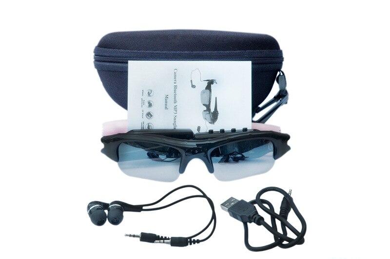 SM07B HD 1080P Smart Sunglasses Camera Eyewear Music Glasses Support TF Card Video Recorder DVR DV MP3 Camcorder