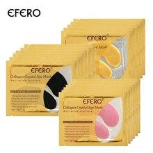 EFERO 5pair=10pcs Collagen Crystal Eye Masks Face Mask Dark Circle Puffiness Bag Anti-Aging Wrinkle Pad Serum