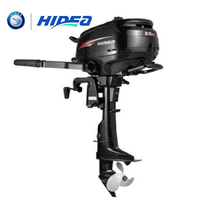 HIDEA Wholesale and Retails Water Cooled 4 stroke 2.5 HP marine engine outboard motor for boats short shaft