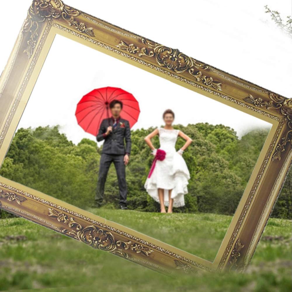 Wedding Family Photography List: Paper Photo Frame Classic Photo Props For Wedding Birthday