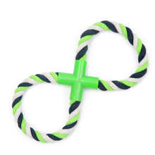 2016 Popular woven cotton rope toy dog puppy early on cats and dogs durable toys pet toys multicolor rope toy