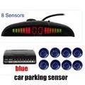 Parking sensor Car Parking Assist System with LED Display 8   Sensors BiBi Alarm Sound Alert Free Shipping 9 colors for option
