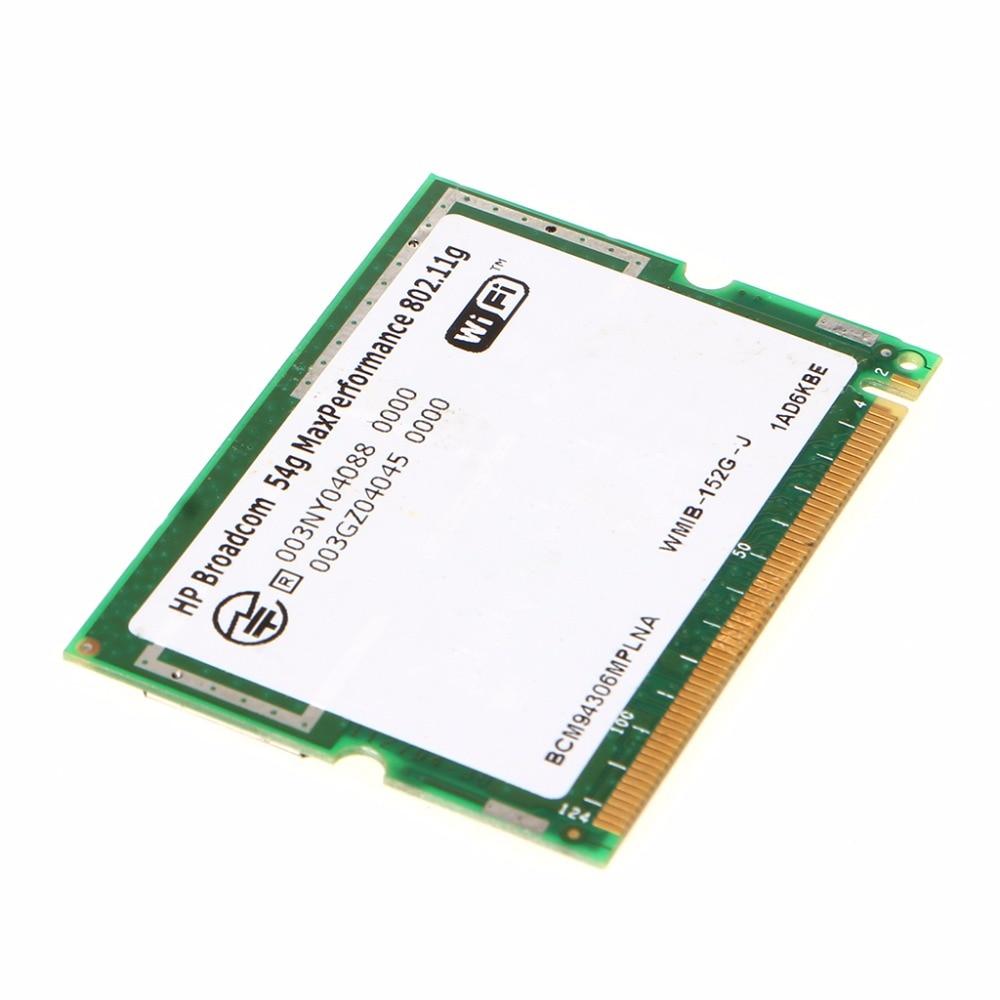New HOT BroadCom BCM94306 BCM4306 Mini PCI Wireless WiFi Card 2.4GHz BCOM C26