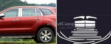 Нержавеющая Полный Оконной Рамы Подоконник Накладка 22 шт. Для Ford EVEREST ВНЕДОРОЖНИК 4DR 2015 2016 автомобилей стайлинг аксессуары