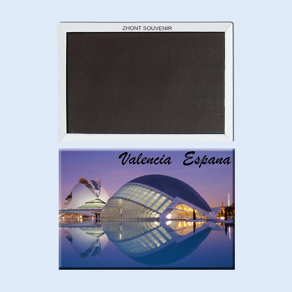 Spain valencia lhemisfric 22608  Landscape  Magnetic refrigerator  gifts for friends   Travel souvenirs