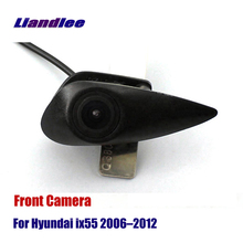 Liandlee AUTO CAM Car Front View Camera Logo Embedded ( Not Reverse Rear Parking ) For Hyundai IX55 2006-2012 2010