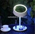 2016 Led de la lámpara rota! lámpara de espejo de aumento con luz espejo del dormitorio de la lámpara Plegable giratoria lámpara de espejo de maquillaje con luz
