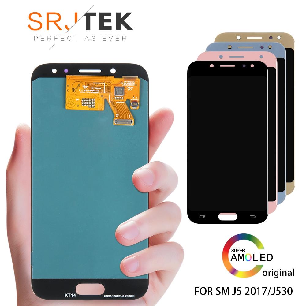 100% Original SUPER AMOLED 5.2 affichage de remplacement pour SAMSUNG Galaxy J5 PRO 2017 J530 J530F LCD écran tactile numériseur assemblée