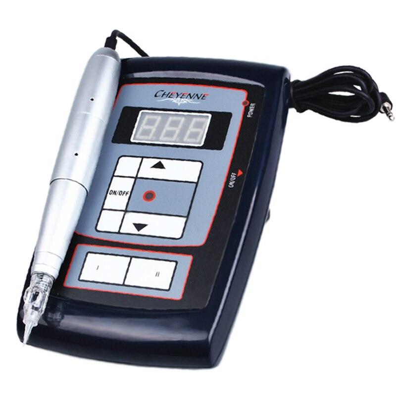 Ultra-Ruhigen Pro Tattoo Guns Permanent Make-Up Rotary Maschine Kit Elektrische Legierung Stift Für Augenbraue Eyeliner Lip Kosmetik