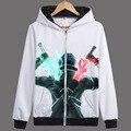 Hero Catcher Anime Sword Art Online Hoodie SAO Jacket Autumn Coat Anime Autumn Hoodie Kirigaya Kazuto Hoodie Print Jacket