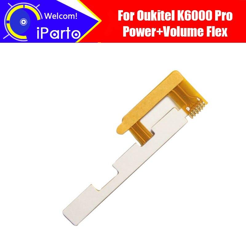 5.5 Oukitel K6000 Pro Volume Flex Câble 100% Original Nouveau volume haut/bas bouton FPC réparation accessoires pour K6000 Pro.