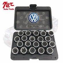 Сделано в Тайване 20 штук шин Противоугонный винт разборка инструмент ключ рукав для VW