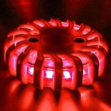 Горячий светодиодный сигнал светофора Сильный магнитный безопасности дорожный фонарик аварийные огни NV99
