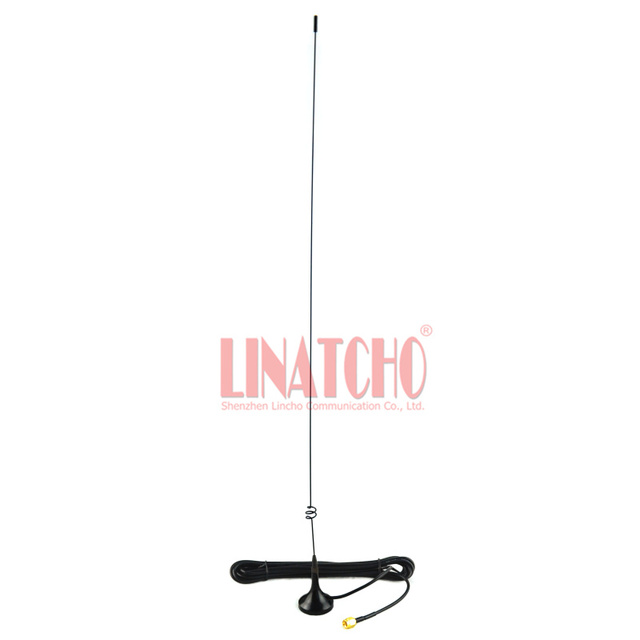 US $12 0 |UT 108 antenna 144 430MHz sma male ham two way amateur radio uhf  vhf magnetic base antenna-in Antennas for Communications from Cellphones &