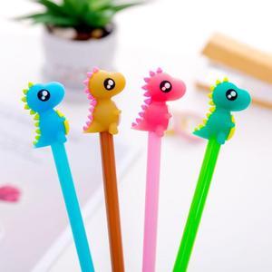 Image 4 - 31 sztuk/zestaw śliczne canetas zwierząt długopis żelowy jednorożec kawaii 0.5mm czarny tusz długopisy prezent biurowe biurowe szkolne Canetas