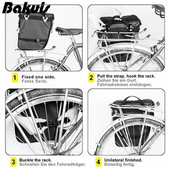 Bike pannier bag bicycle rear rack