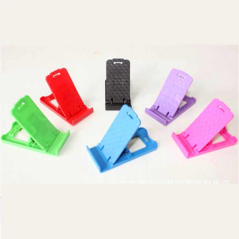 UVR Cep telefon tutucu Renkli Taşınabilir Ayarlanabilir Evrensel Katlanabilir Telefon Standı Samsung Için iPhone Için Tüm Akıllı Telefon Için