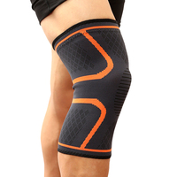 1PC Fitness Running Cycling Knee Support Braces Elastic Nylon Sports safety Compression Knee Pad Sleeve Basketball Volleyball 2