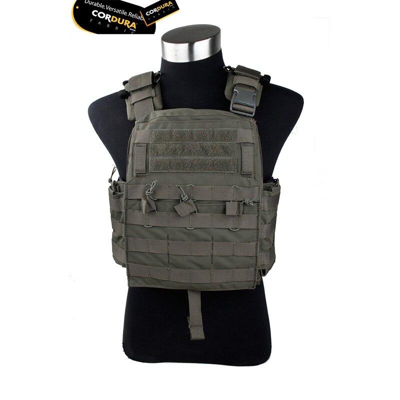 2019 RG CPC Tactical Vest 2018v Version CORDURA Fabric Cherry Plate Carrier  Military Combat Vest Ranger Green