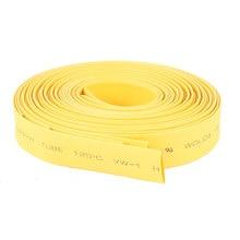 UXCELL 5 Шт. Желтый 1 М 3Ft Лонг 8 Мм Диаметр Тепла Термоусадочная термоусадочная Трубка Рукава Провода Термоусадочная Трубка Обруча Провода тепла |