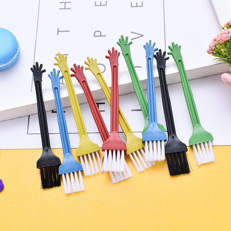 10 PC Game Mechanical Keyboard Keycap Cleaning Brush Portable Cleaning Brush For Keyboard Mobile Phone TV Remote Control To Dust