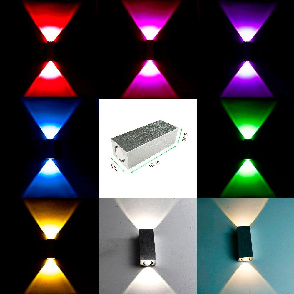 AC85-265V Moderna 2W / 6W vodio zidno svjetlo visoke kvalitete WC - Unutarnja rasvjeta