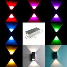 AC85-265V Modern 2W/6W led wall light high quality restroom bedroom corridor wall lamp decoration light CF