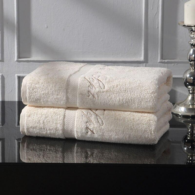Ultra Absorbent Towels Bathroom Hair Towel Serviette De Bains Quick Dry Hotel Travle Towel Supplies Bath Towels Cotton QQ4232