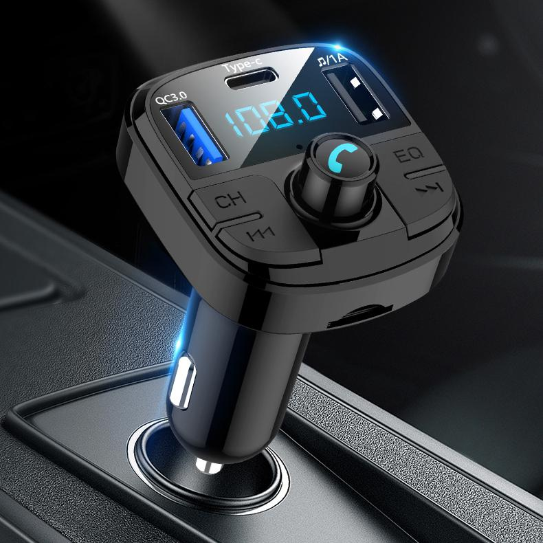 HobbyLane BT29 Auto <font><b>MP3</b></font> Bluetooth <font><b>Player</b></font> Drahtlose Bluetooth FM Transmitter USB 3.0A Lade Hände-freies Anruf image