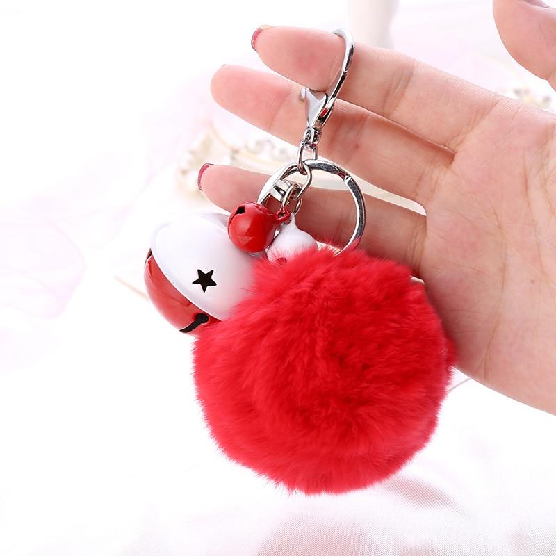 Fur Ball Key Chain (10)
