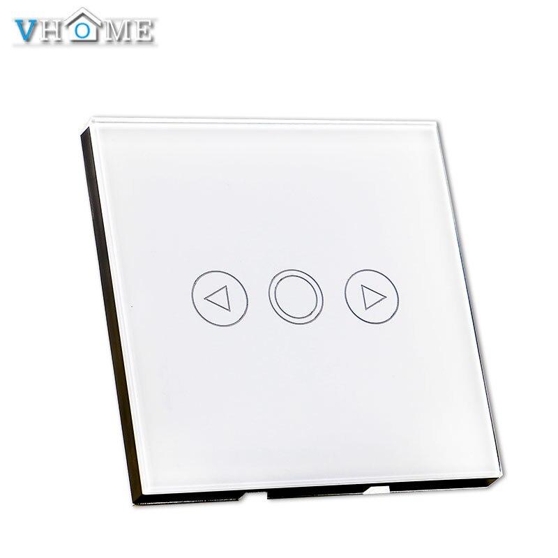 Vhome Smart Gradateur, L'UE 86 type Mur LED Lampe Ventilateur gradation couleur RF433Mhz commutateur, dimmable Spots Pour La Maison Intelligente