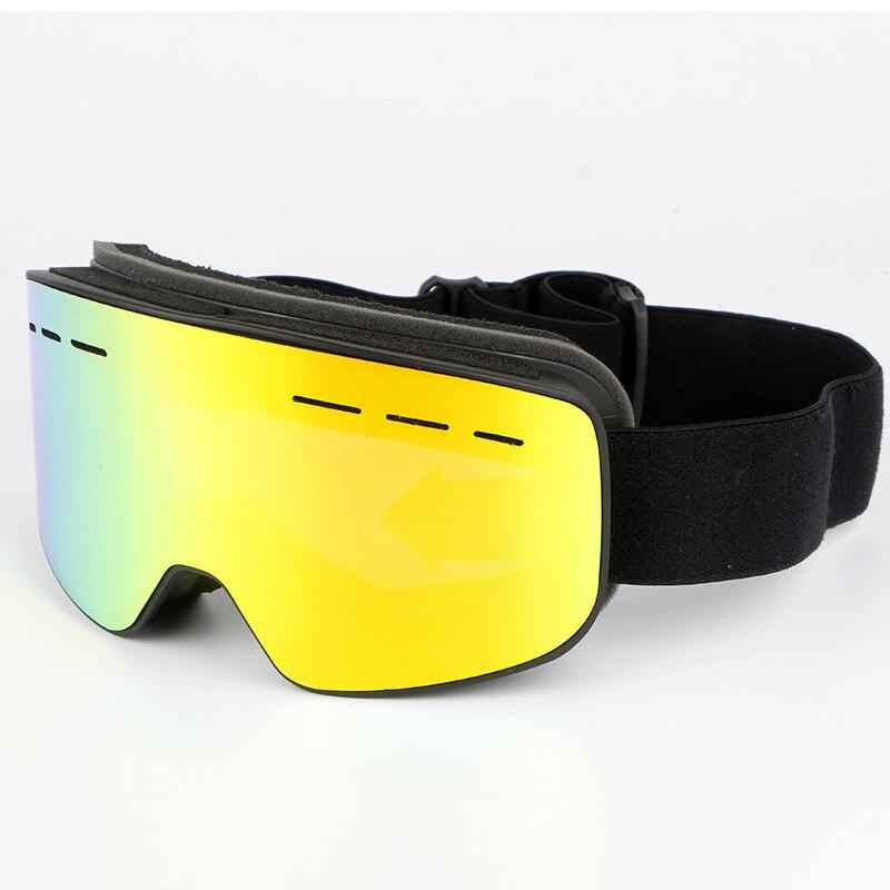 VANREE marque lunettes de ski double lentille anti-buée ski lunettes hommes femmes masque neige lunettes adulte ski snowboard lunettes HXYJ019