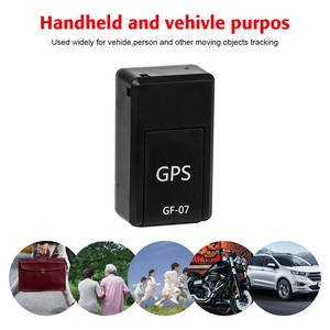 Sos-Tracking-Devices Location Systems Vehicle GPS GF-07 Magnetic Child for Car Mini Permanent