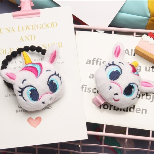 1PC Cute Cartoon big eyes Children Hair Ropes Cute Elastic Rubber Hair Band Girls Hair Accessories Baby   Headwear   Kids Headdress