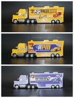 3pcs Suit 1:55 Scale Diecast Toy Model Cars Animation Lightning Trucks Multiple Choice Best Gift Colleaction 58 /64 /79 Truck