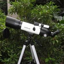 Wholesale prices Visionking Refractor Telescopio Scope 90 Mm Universal Astronomy Telescope 90500 Astronomical Space Telescopes With High Tripod