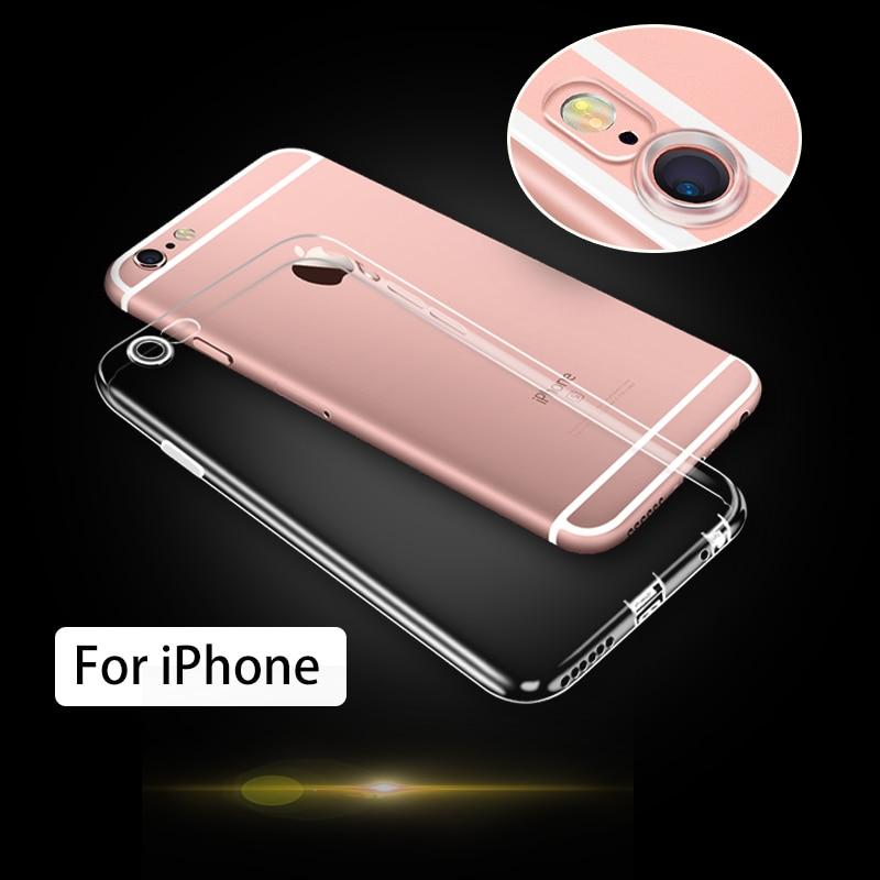 Untuk iPhone 5 5 S 6 6 S 6 DITAMBAH 7 S Doolike Transparan Ponsel - Aksesori dan suku cadang ponsel - Foto 1
