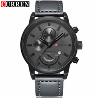 CURREN Fashion Military Sport Mens WWatches Top Brand Luxury Quartz Watch Reloj Hombre 2017 Clock Male