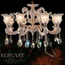 Mode kristall-kronleuchter 8 Arme Luxus kristall licht Mode kronleuchter kristall licht Moderne Große kronleuchter Durchmesser 80 cm