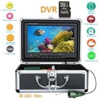 GAMWATER15M 30M 50M 9 Inch Digital 1000TVL Fish Finder HD DVR Recorder Waterproof Fishing Video Underwater