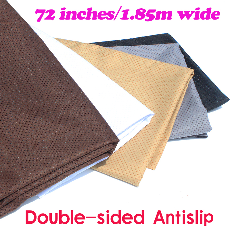 Obojstranné protiskluzové vinylové nepromokavé textilie Gumové nekluzné textilie pro polštář koberec 185cm široké prodávané u dvora 185x92cm