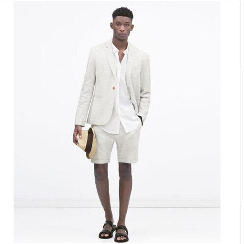 Derni-re-Linge-Hommes-Costumes-Avec-Pantalon-Court-Pour-Le-Mariage-2-Pi-ces-Veste-Pantalon (2)