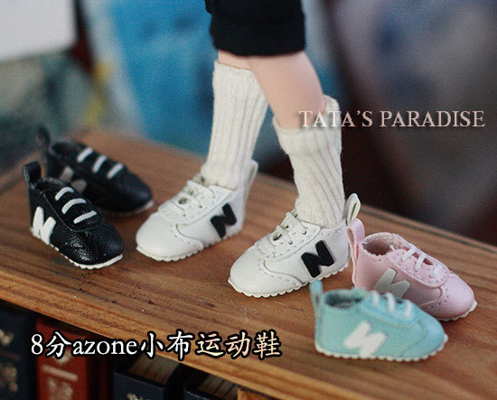 BJD  doll shoes Doll accessories shoes sports shoes 3cm  1/8