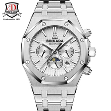 Top Brand BINKADA Luxury Automatic Winding Watch Men Waterproof Mechanical Sport ap Style Watch Relogio Automatico