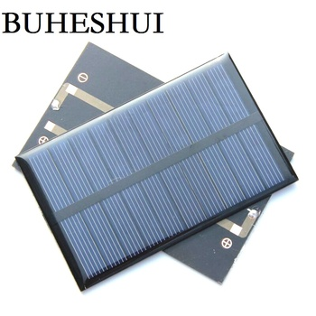 BUHESHUI 1.2W 5V Mini Solar Panel Solar Cell DIY Soar Charger Polycrystalline Education 110*69MM 50pcs Wholesale Free Shipping