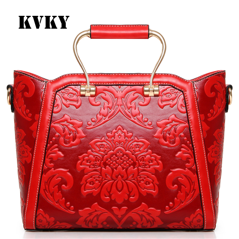 Sky fantasy Chinese style metal hard handle embossed PU women cross body handbag vogue fashion casual tote girls shoulder bag hot fashion chinese style women handbag embroidery ethnic summer fashion handmade flowers ladies tote shoulder bags cross body
