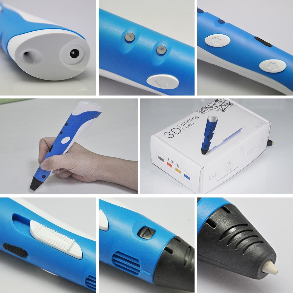 DEWANG firka toll 3D tollak 220M PLA fonal 3D nyomtató toll - Irodai elektronika - Fénykép 6